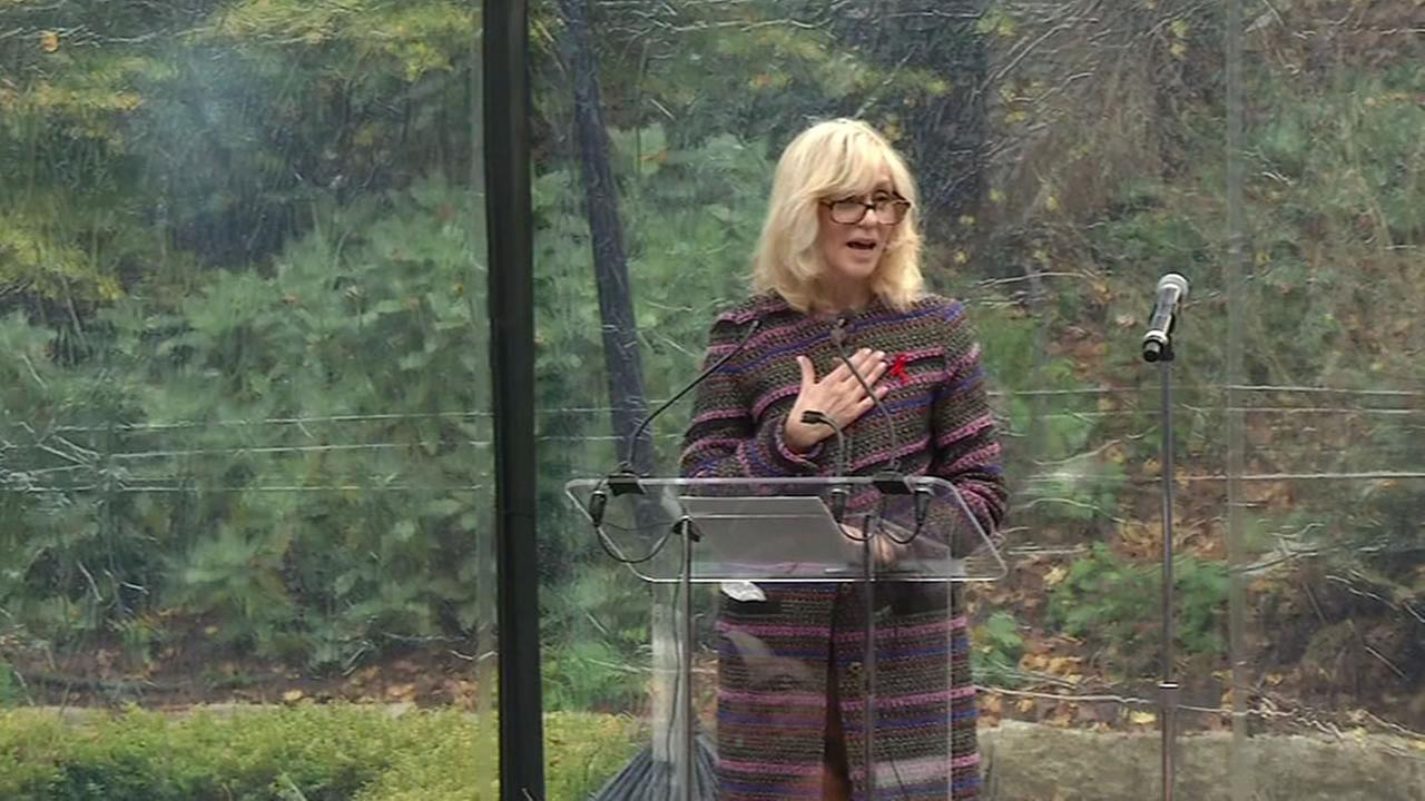 Actress Judith Light was honored on Worlds AIDS Day in San Francisco.