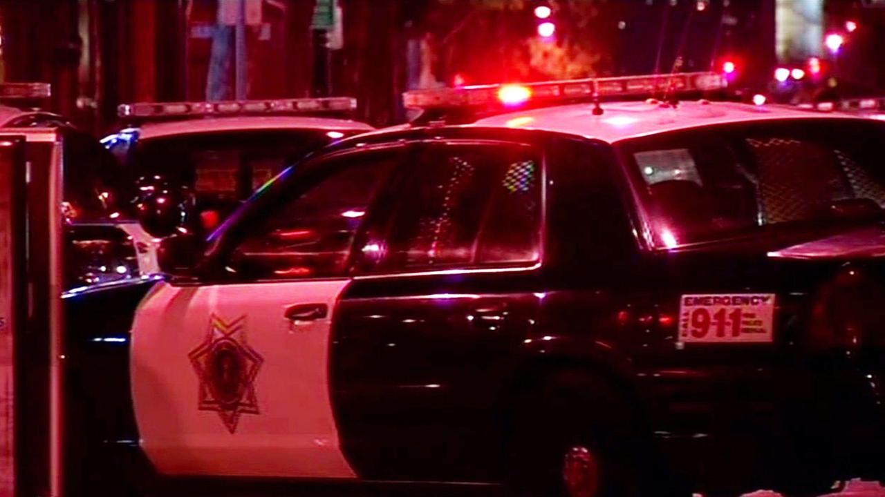 San Jose police at crime scene.