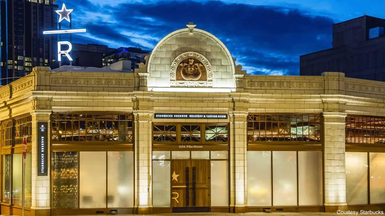 Coffee giant Starbucks has opened a brand new roastery and tasting room in Seattle.