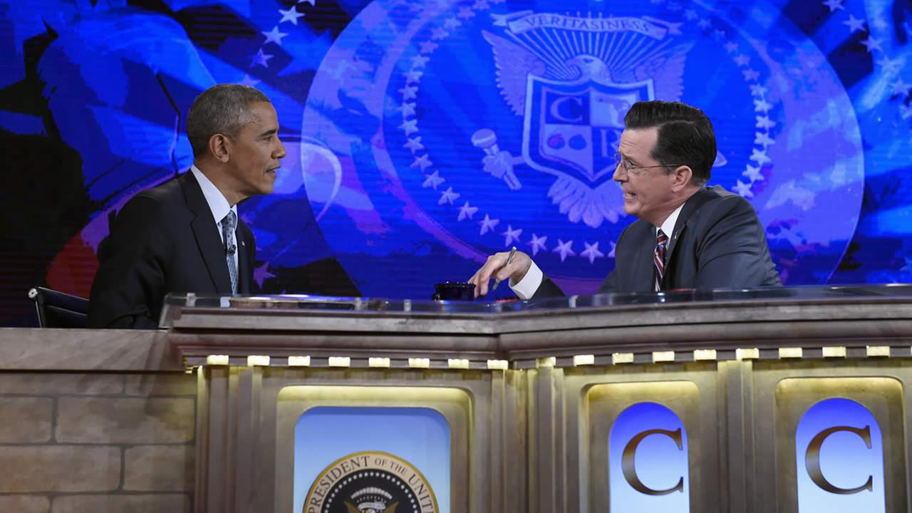 Obama on Colbert Report
