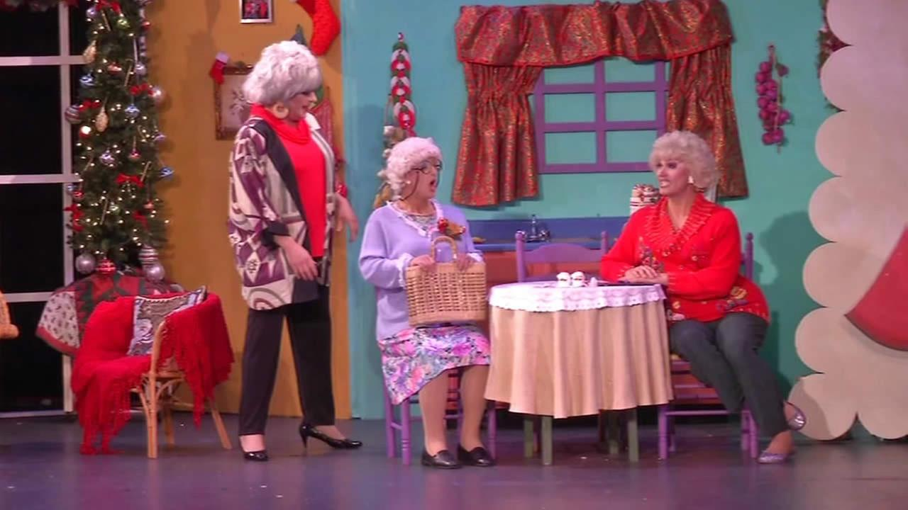 The Golden Girls: The Christmas Episodes is a live onstage reenactment of the hit TV show.