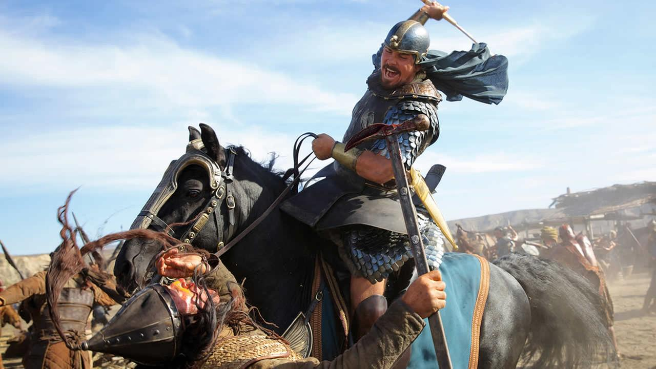 This image released by 20th Century Fox shows Christian Bale in a scene from Exodus: Gods and Kings. (AP Photo/20th Century Fox, Kerry Brown)