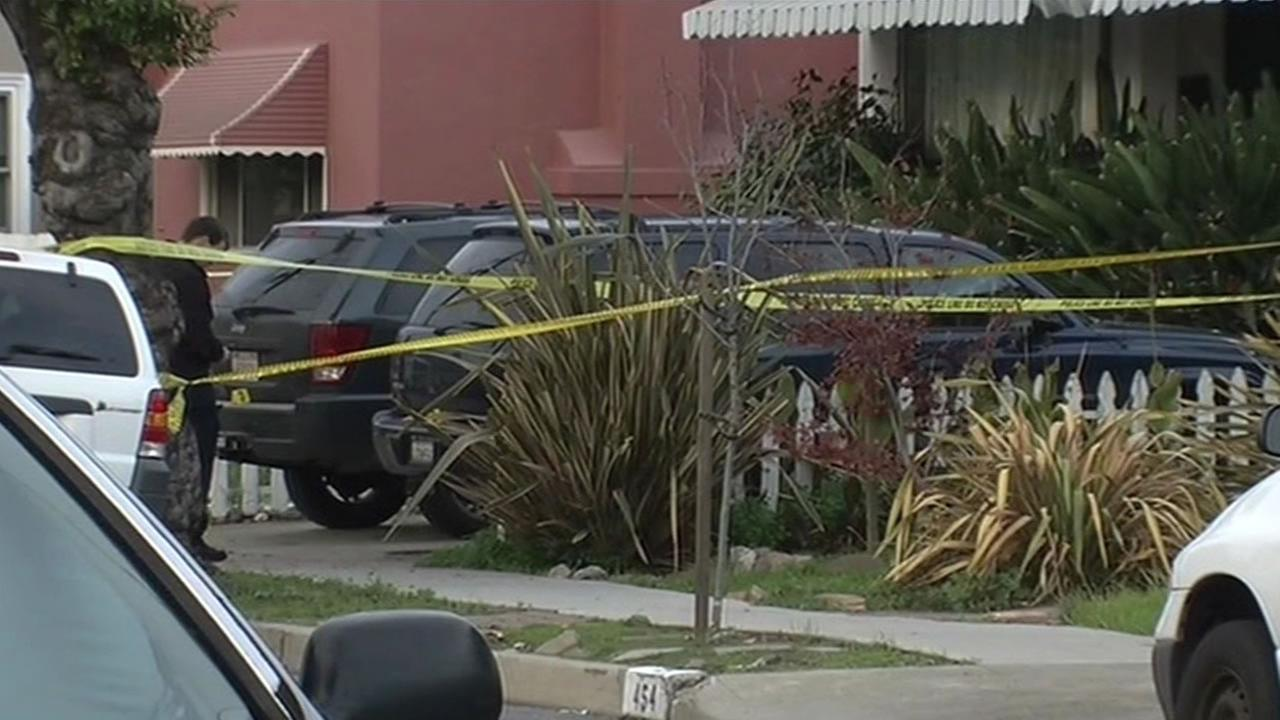 Police are investigating the death of a man found shot in a parked car in San Leandro