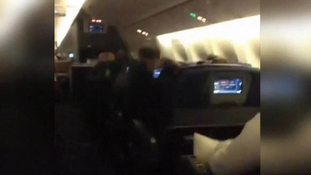 Dallas-bound American Airlines flight that hit bad turbulence