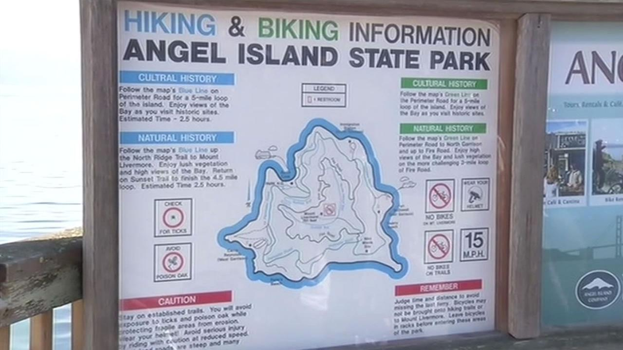 Angel Island will be closed this upcoming weekend while its waste water system recovers from excess storm water.