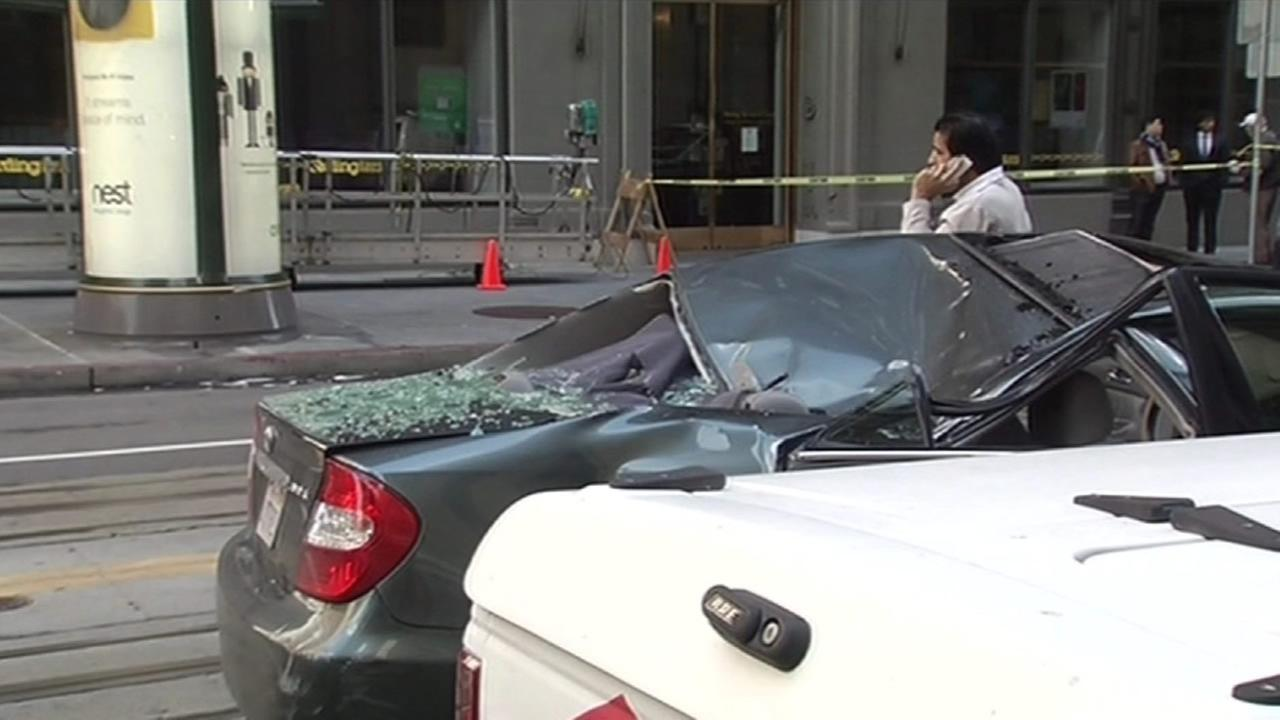 A 58-year-old window washer who fell 11 stories from the roof of a building onto a moving car is expected to soon check into a rehabilitation facility.