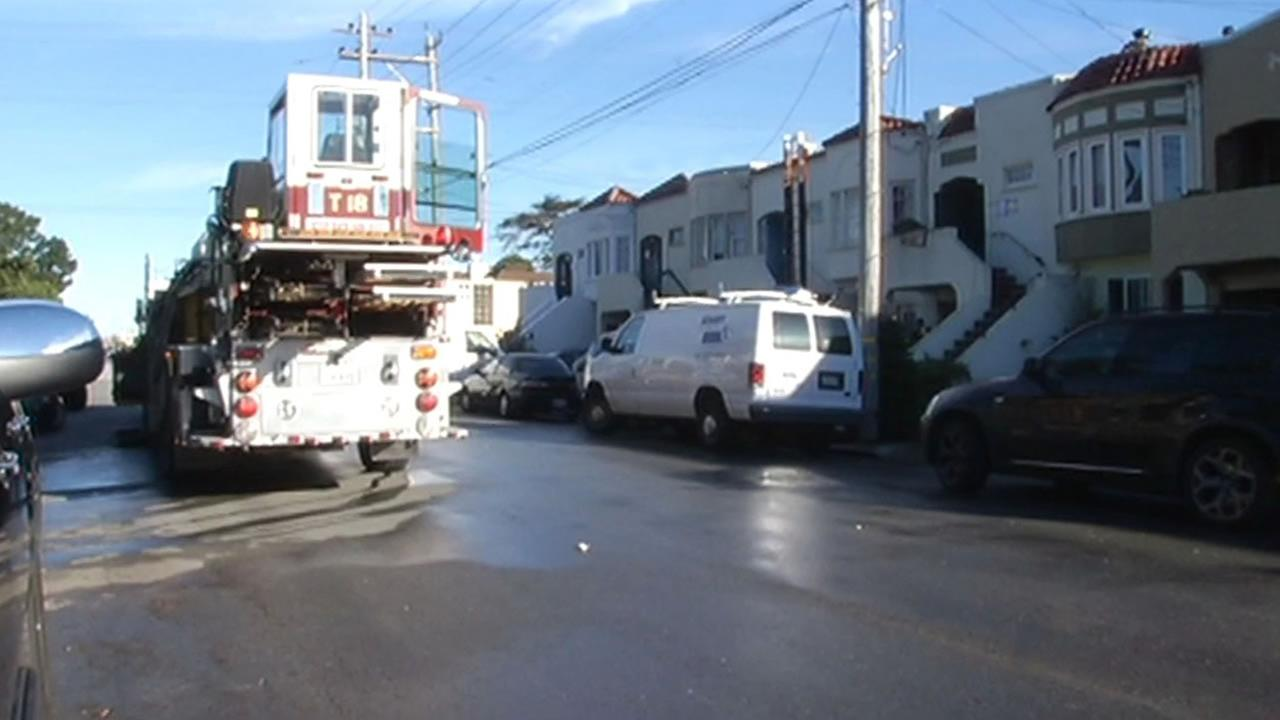 A house fire in San Francisco has forced a family of six to find a new place to stay.