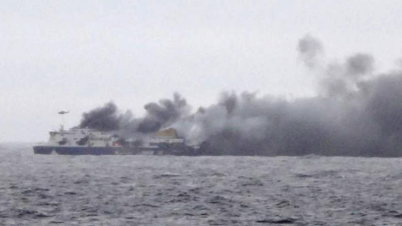 ferry fire