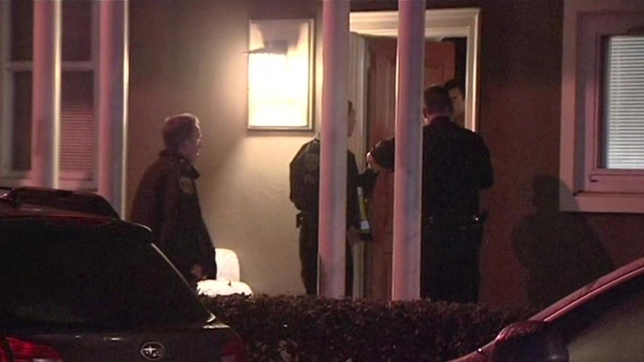 San Francisco police investigate home invasion robbery.