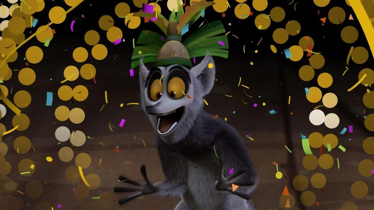 King Julien, Star of the Latest Netflix Original Series for Kids