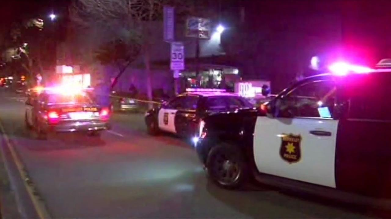 A double shooting in Berkeley Monday night left a man dead and a woman injured.