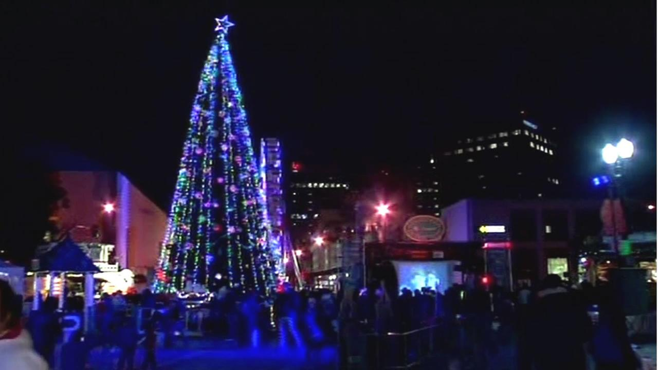 Christmas in the Park in San Jose, Calif.