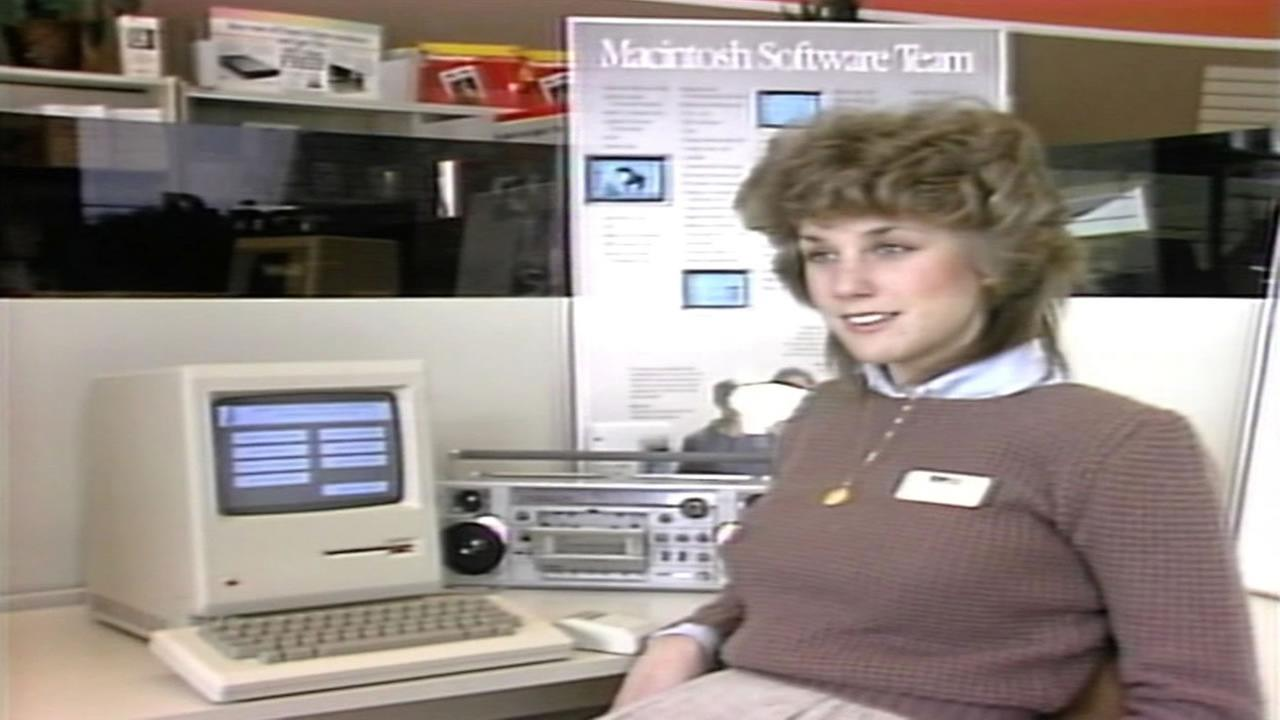 Apple employee in the 1980s