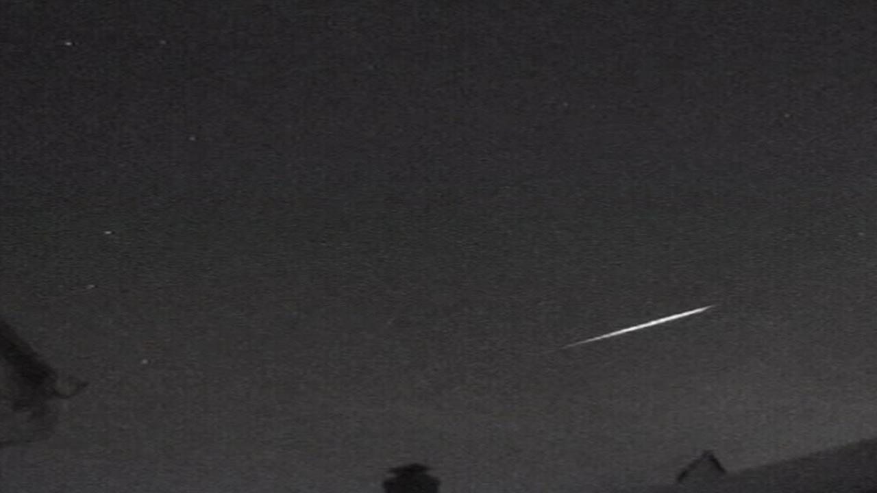 The first meteor shower of 2015 will reach its peak at the stroke of midnight.