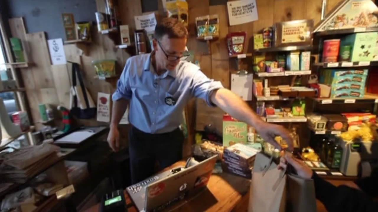 A man is going to extraordinary lengths to show his love for Trader Joes -- hes reselling the California-based companys products in a Vancouver store called Pirate Joes.