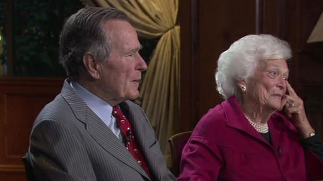 George HW And Barbara Bush