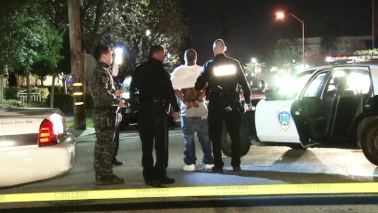 Burglary suspect arrested in San Mateo.
