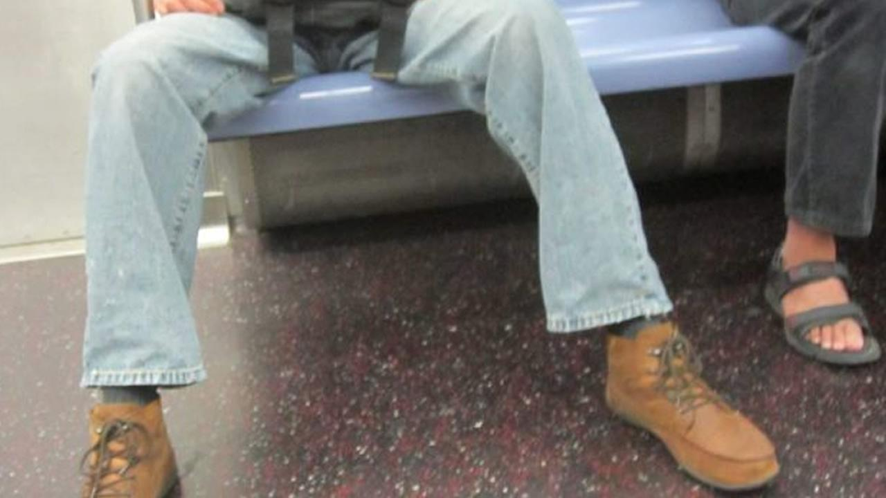 San Francisco Muni officials may ask riders about what appears to be a nationwide problem -- manspreading.