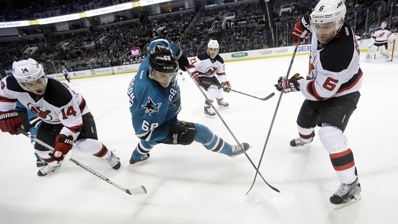 San Jose Sharks Melker Karlsson