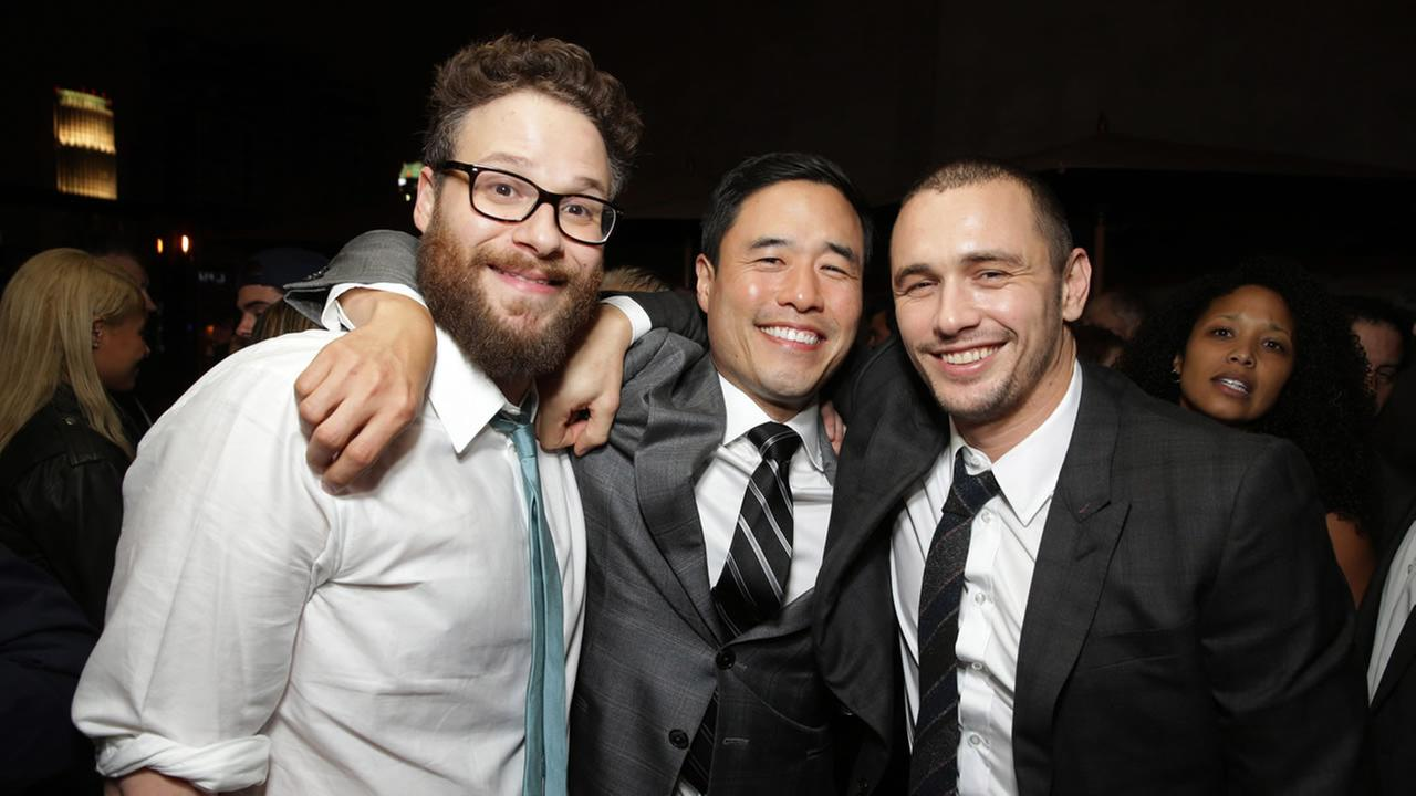 Seth Rogen, Randall Park and James Franco