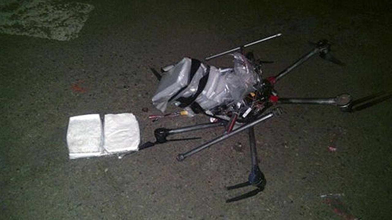 drone carrying meth