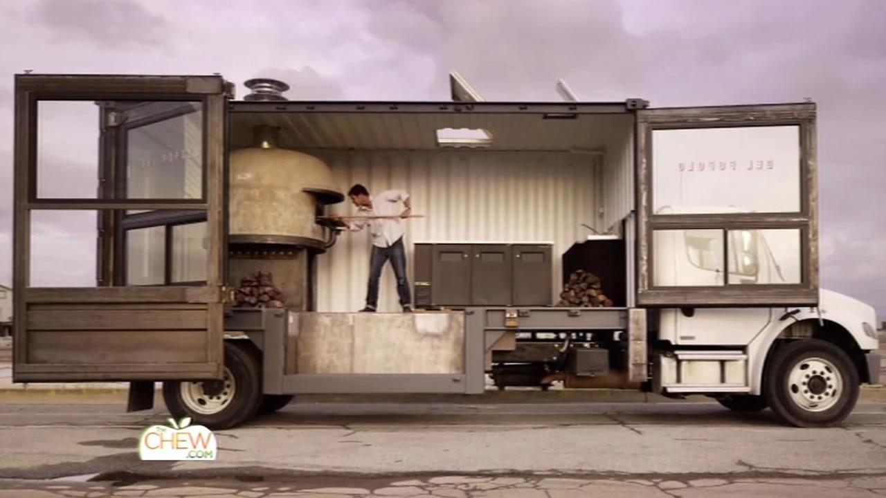 San Franciscos Del Popolo pizza truck.