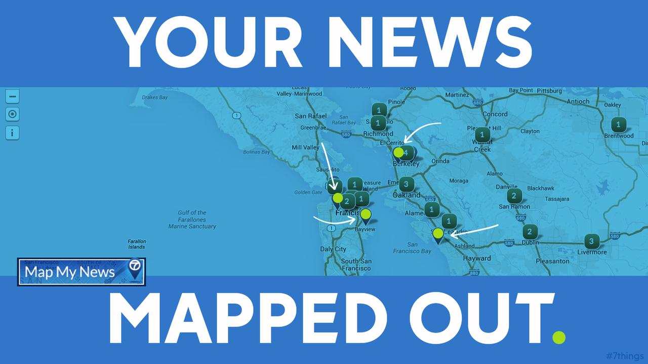 MAP MY NEWS: Find the news and tweets from where you live on our customized Google map!