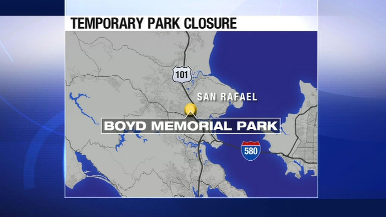 San Rafaels Boyd Memorial Park will be temporarily closed.