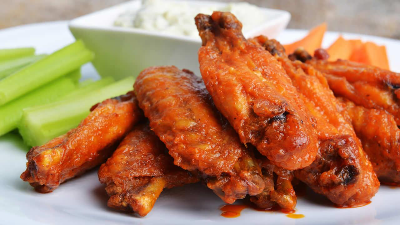 Chicken wings.