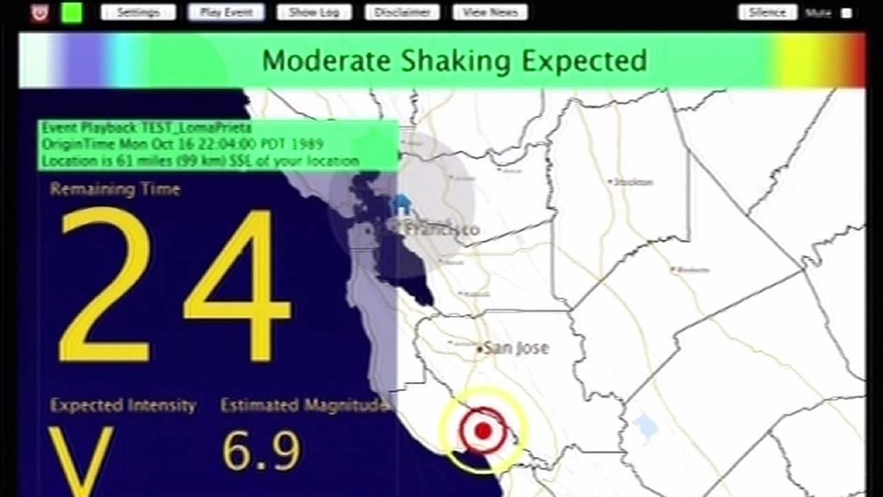 Quake warning system stalls in California
