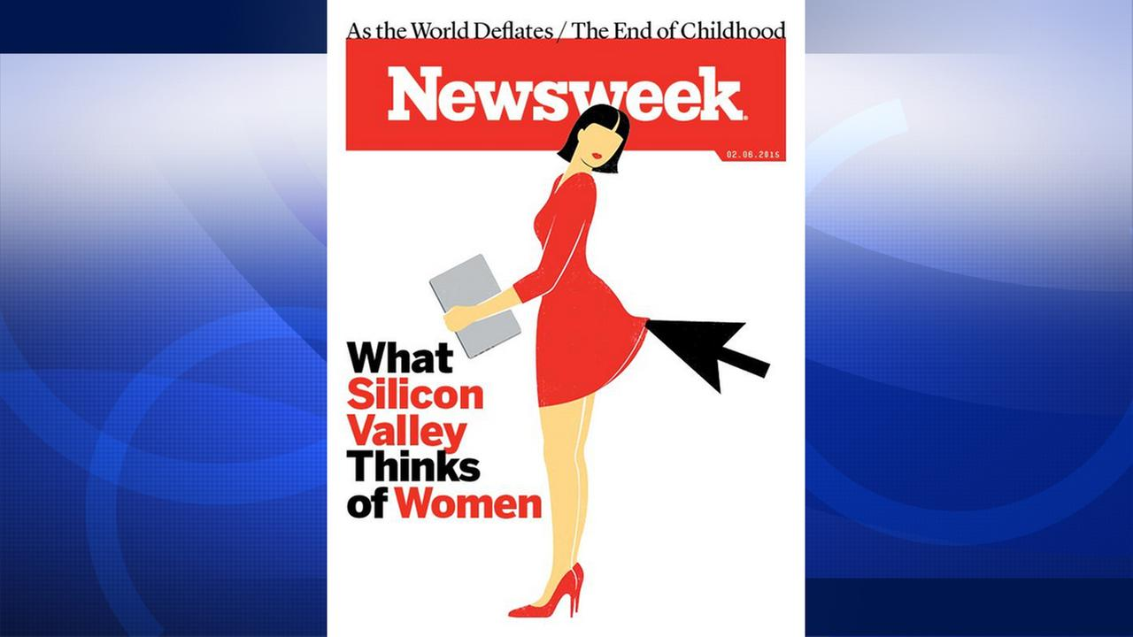 What Silicon Valley Thinks of Women Newsweek cover