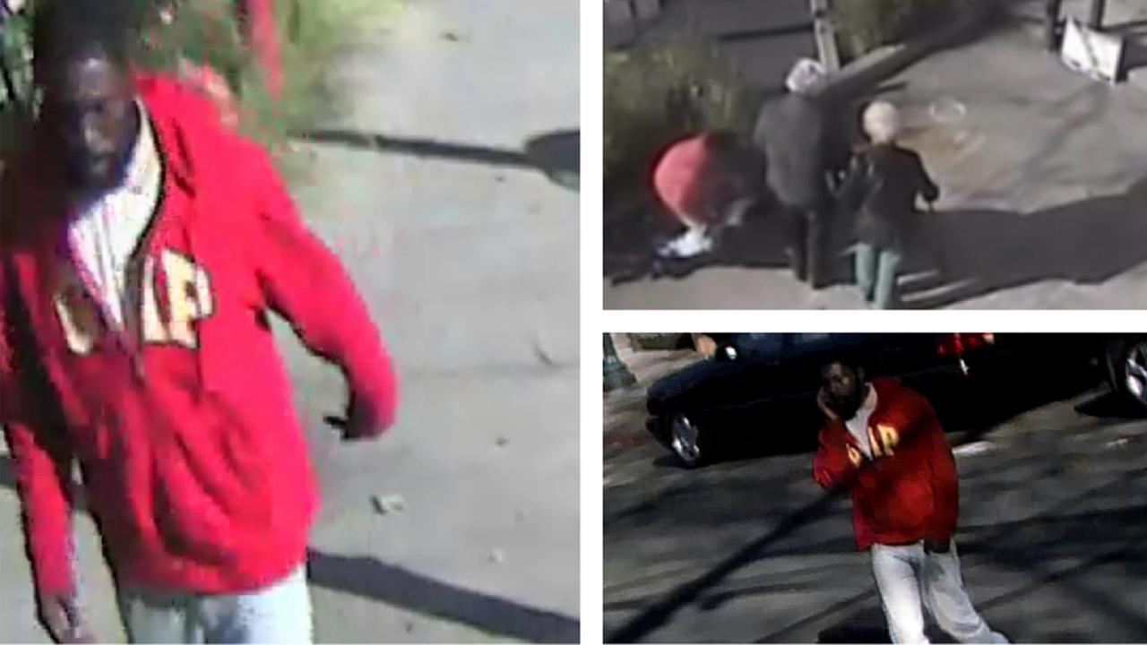 Berkeley robbery scene.