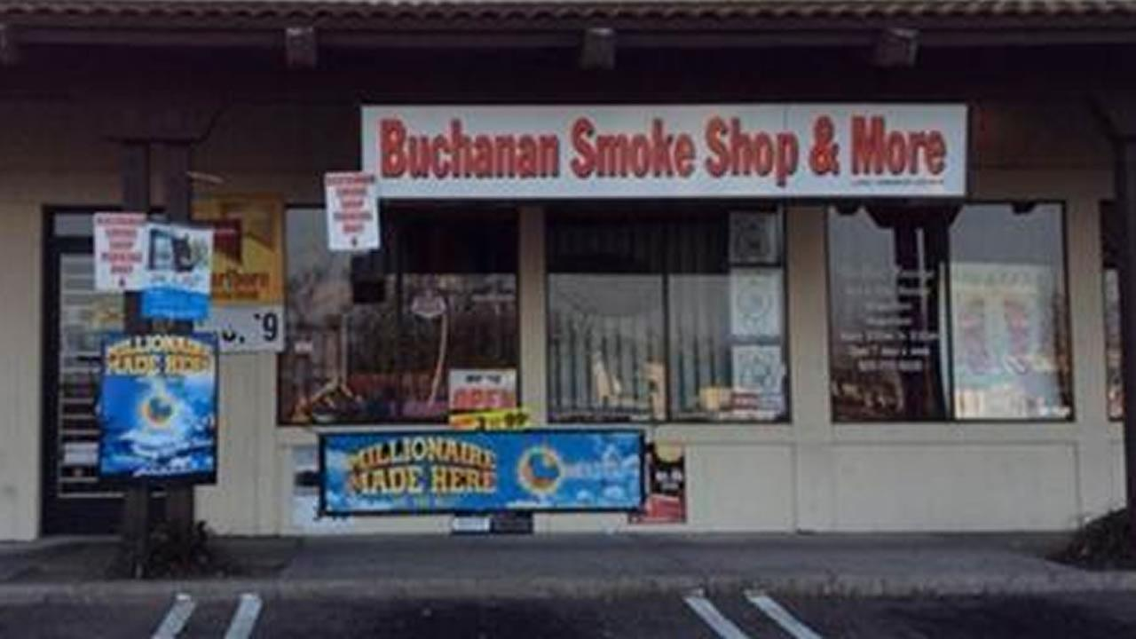 A winning Powerball ticket worth $1.4 million was sold at Buchanan Smoke Shop and More in Antioch, Calif.