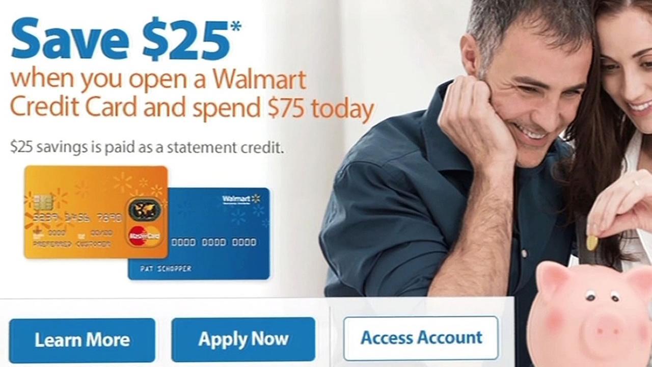 Walmart MasterCard offer