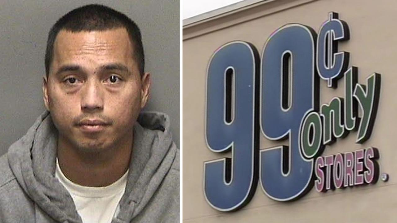 Registered sex offender Carlyle Villazon, 33, was arrested on Feb. 4, 2015 in connection with the molestation of an 8-year-old girl at a 99 Cents only Store near Hayward.