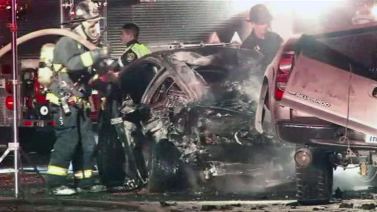 Wrong way driver involved in fatal crash in Fremont.