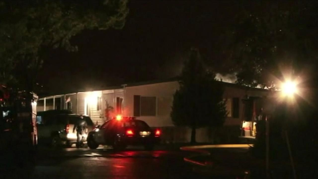 Person dies in mobile home fire in San Jose