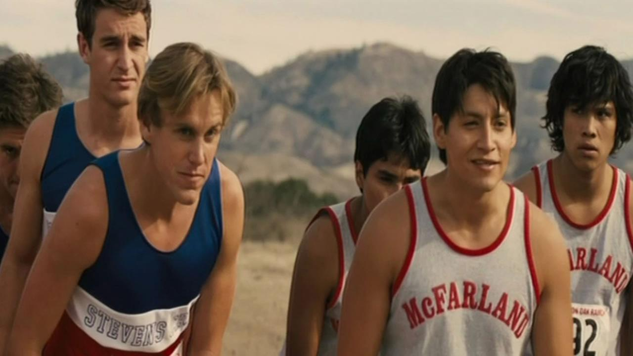 A scene from the movie McFarland, USA.