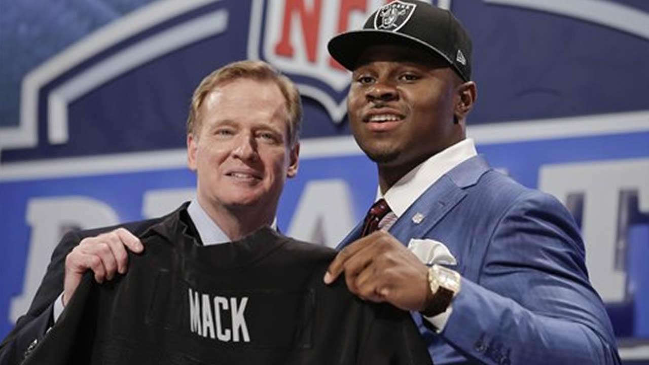 Buffalo linebacker Khalil Mack