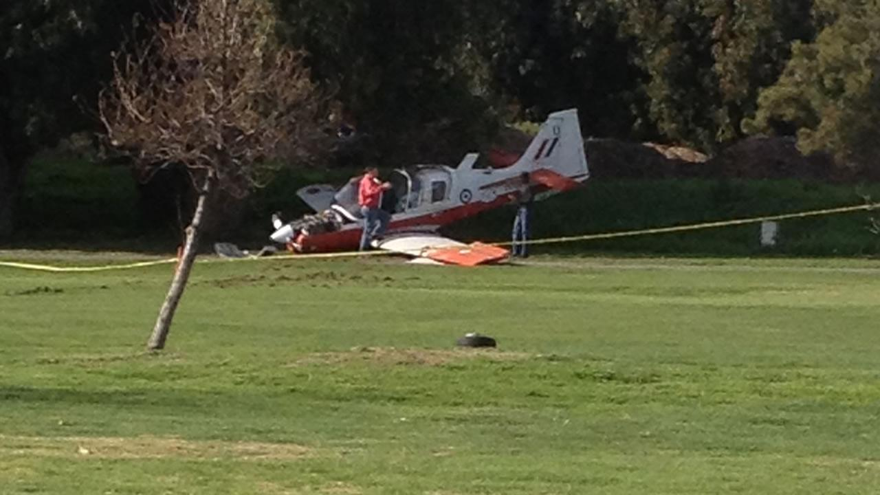 Plane makes emergency landing at Skywest Golf Course in Hayward