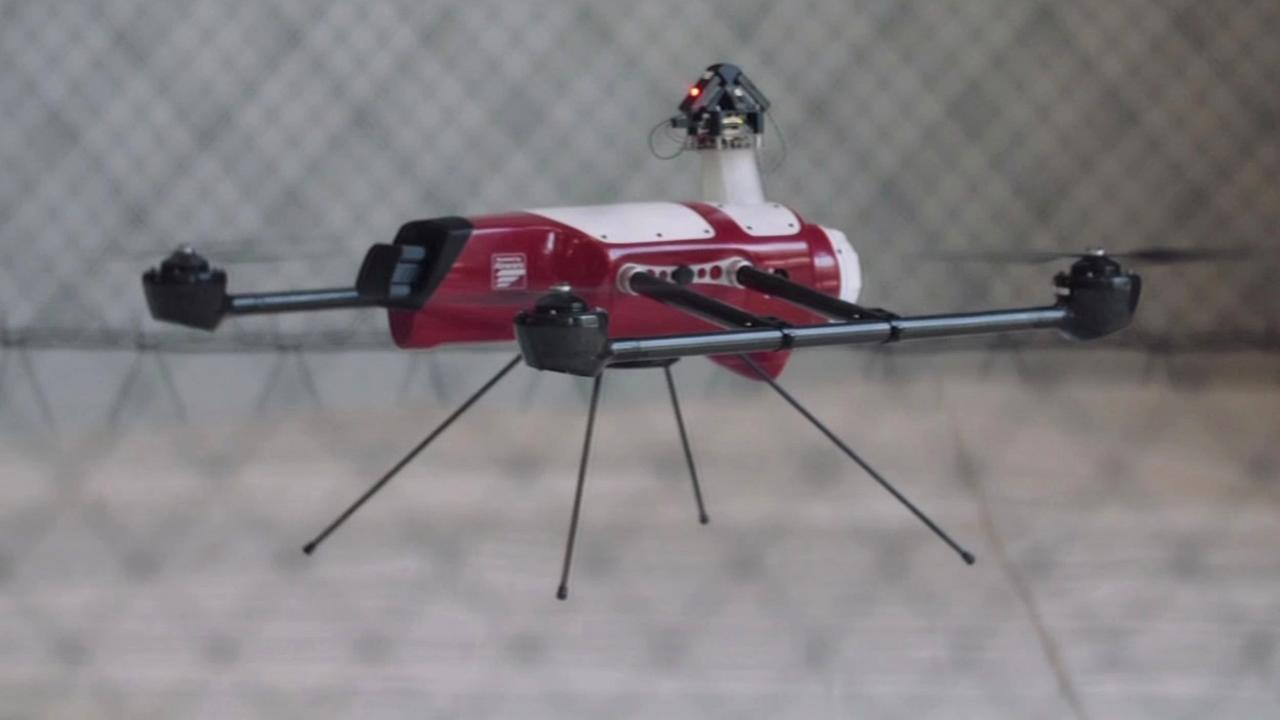 An Airware drone is tested in San Francisco on Feb. 16, 2015.
