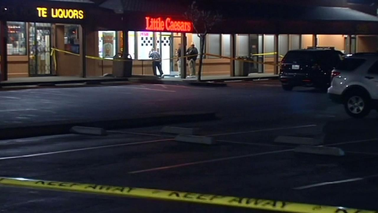 Police investigate shooting at Little Caesars