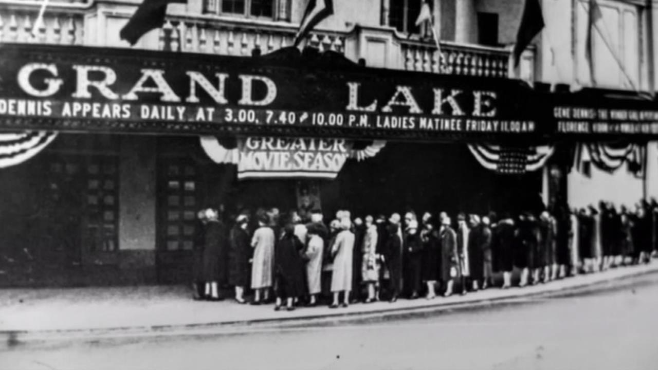 A look at the historic Grand Lake Theatre in Oakland, Calif.(ABC7/Wayne Freedman)