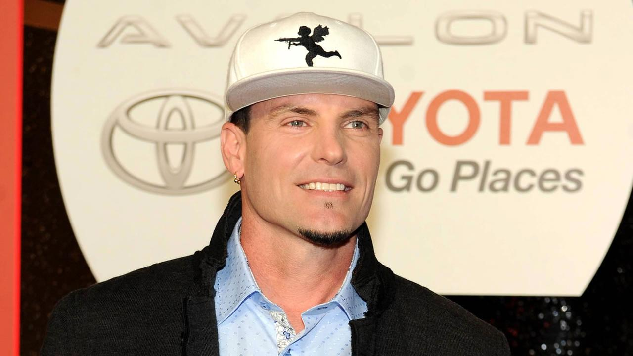 In this Nov. 8, 2013 file photo, recording Artist Vanilla Ice arrives at the 2013 Soul Train Awards at the Orleans Arena in Las Vegas.