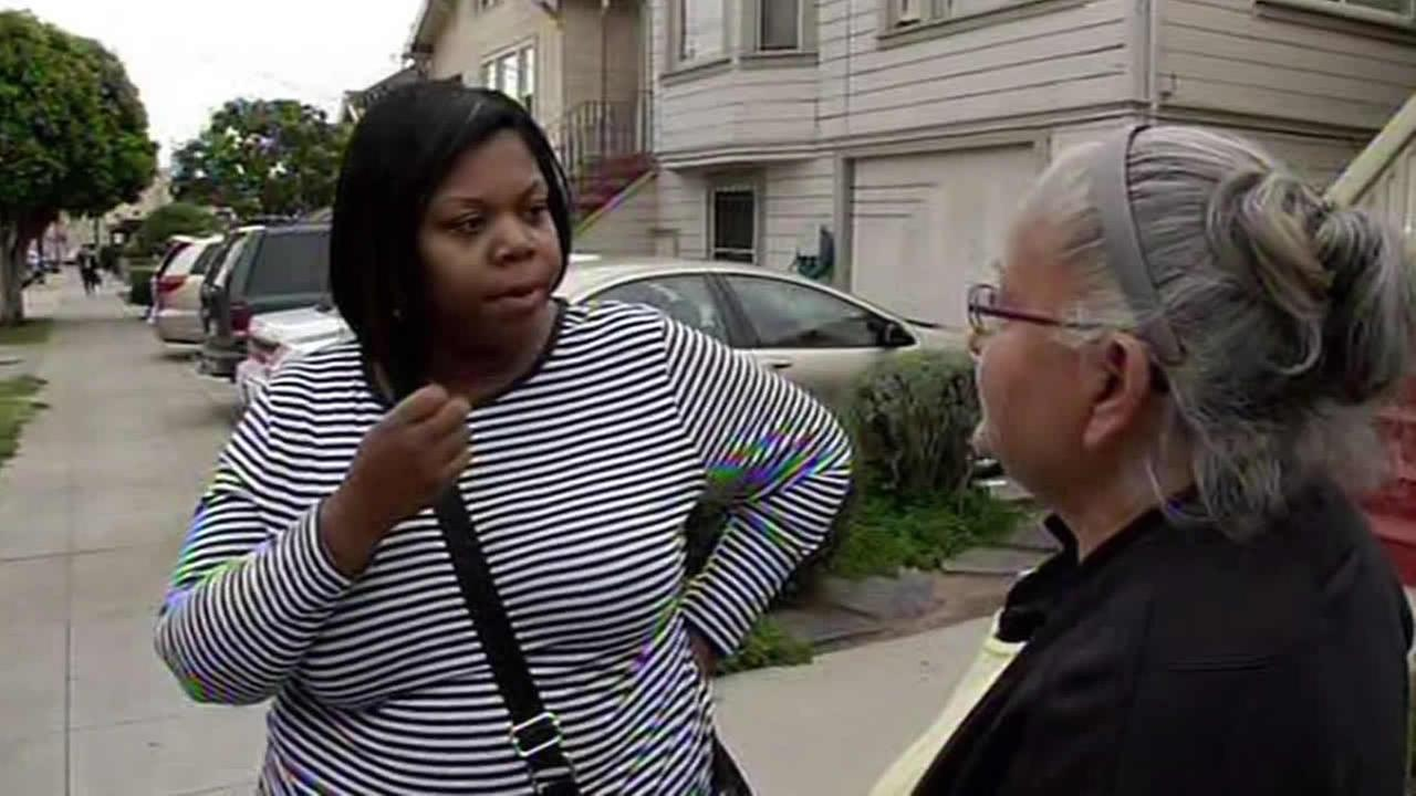 landlord confronts imposter