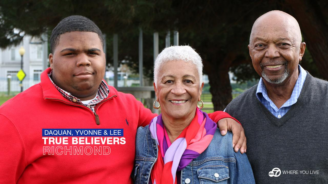 TRUE BELIEVERS:  Life changed for Daquan Jackson after he met Yvonne and Lee through a very special program called CASA.