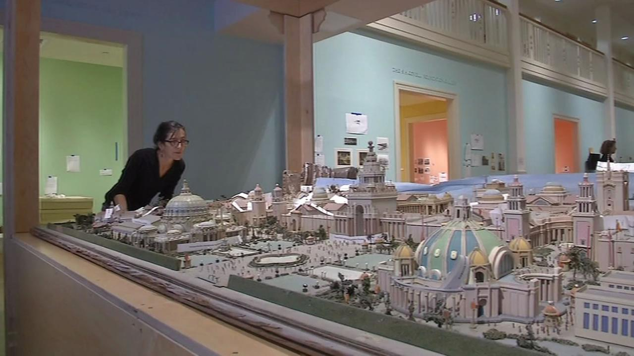 Replica of the Worlds Fair.