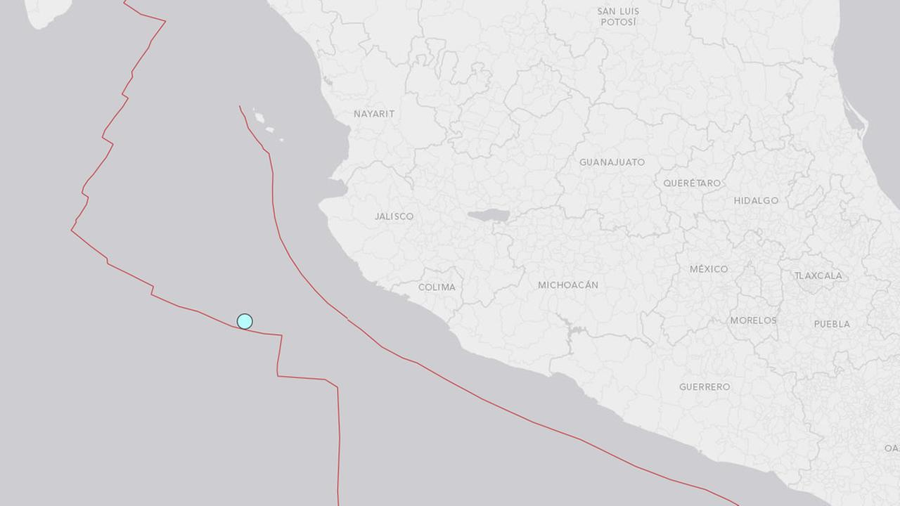 No reports of damage after Mexicos Pacific coast state of Jalisco hit by strong 6.2 earthquake.