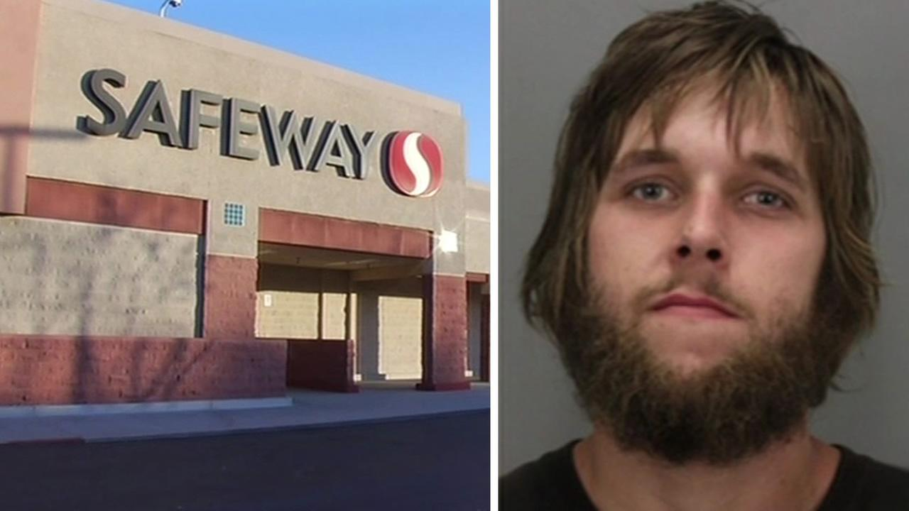 Cody Gintz, 23, is accused of stealing a cash box from a 10-year-old selling Girl Scout Cookies outside a Safeway in San Jose, Calif. on Feb. 22, 2015.