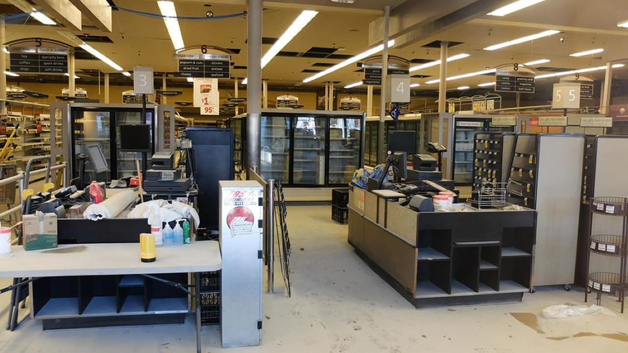 Safeway store under construction KGO-TV/Wayne Freedman